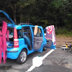車中泊の写真1
