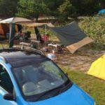 キャンプの車載問題を解決するルーフキャリアバッグ