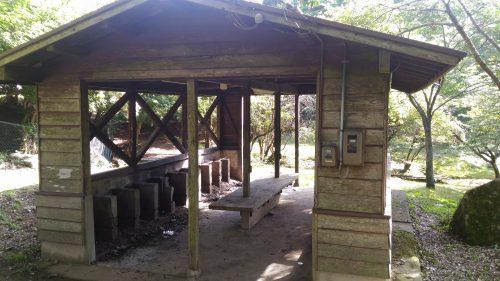 大野アルプスランドキャンプ場のカマド