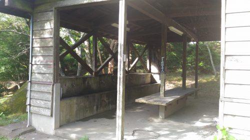 大野アルプスランドキャンプ場の水道
