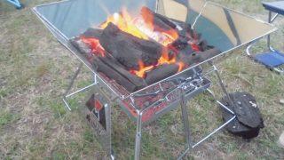 焚き火の火の粉対策