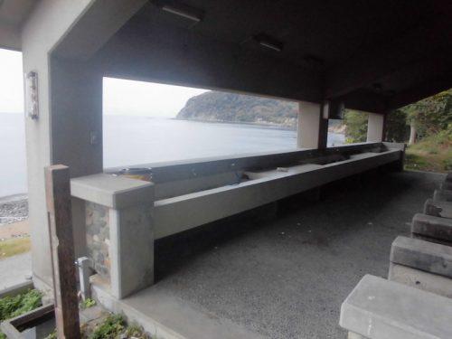 丸山県民サンビーチの炊事棟