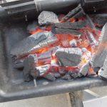 バーベキューの炭について