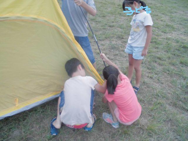 子供テント