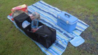 キャンプサイトの整理に使えそうな車用収納ボックスをゲット