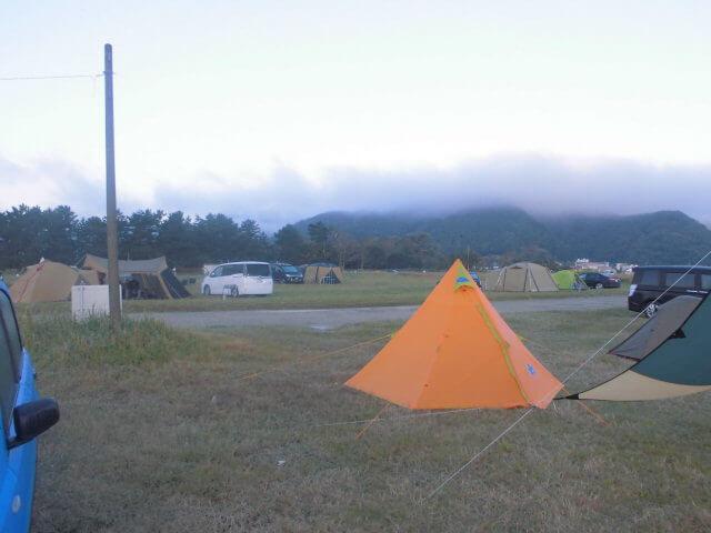 気比の浜キャンプ場