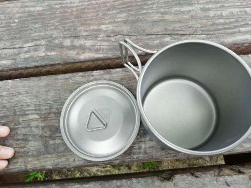チタン製マグカップ