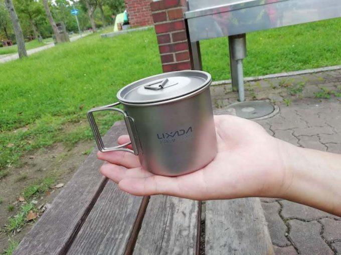 Lixada チタンカップ