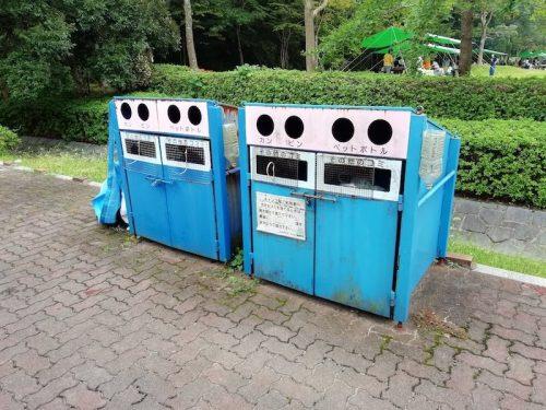 しあわせの村 ゴミ箱