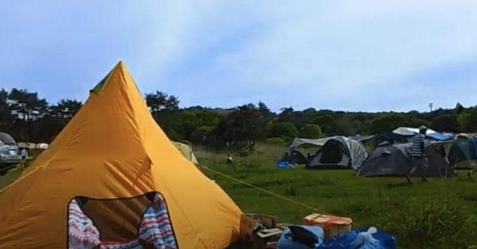 峰山高原 星降る高原キャンプ場