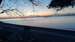 丸山県民サンビーチキャンプ場で真冬のソロキャンプ