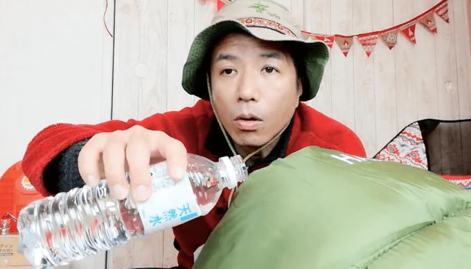 ホークギアの寝袋の防水機能